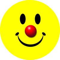 Classic Smiley Clown © Sticker