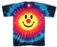 Smiley Clown © Tee Shirt Tie Dye Short Sleeve